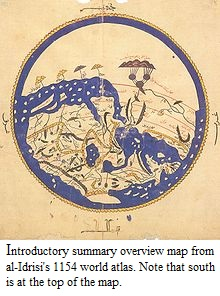 Al-Idrisi, world map